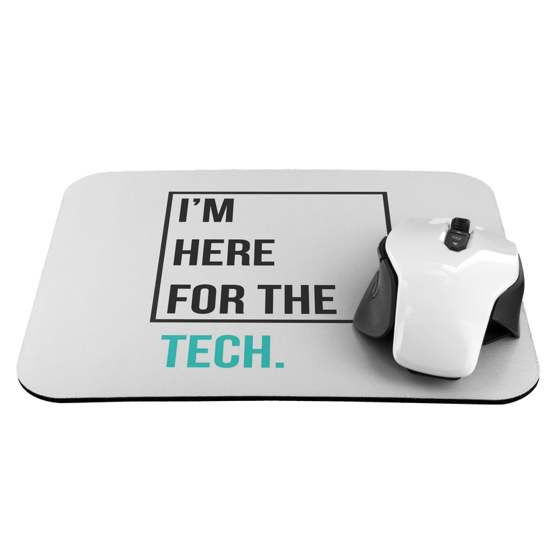 I'm here for the tech (Zilliqa) - Mousepad