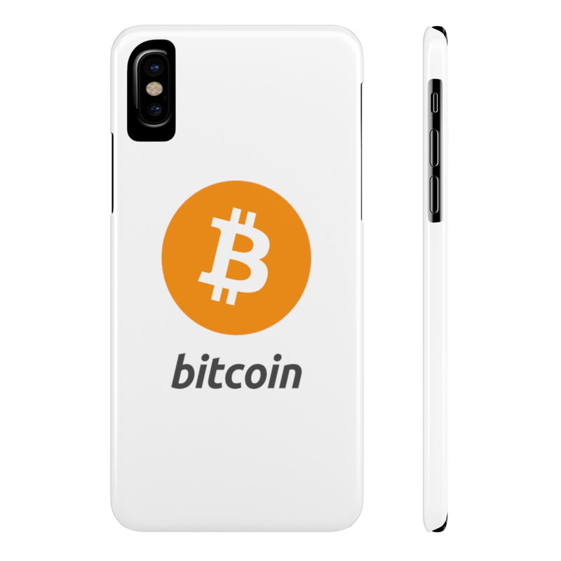 Bitcoin - Case Mate Slim Phone Cases