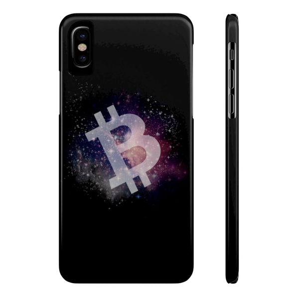Bitcoin universe - Case Mate Slim Phone Cases