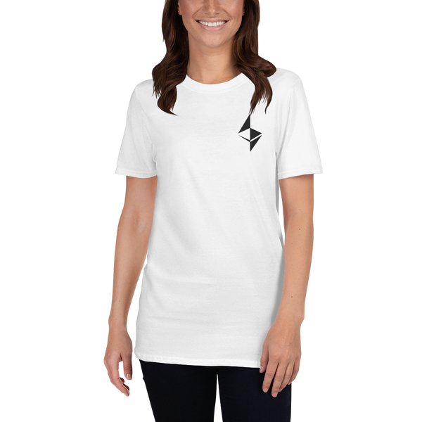 Ethereum surface design - Women's Embroidered T-Shirt