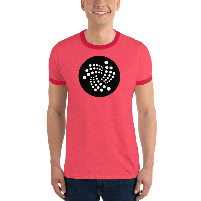 Iota logo - Men's Ringer T-Shirt