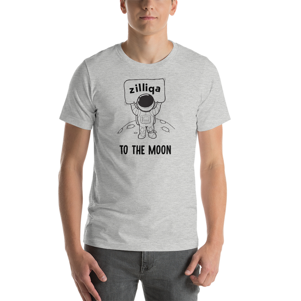 Zilliqa to the moon - Men's Premium T-Shirt