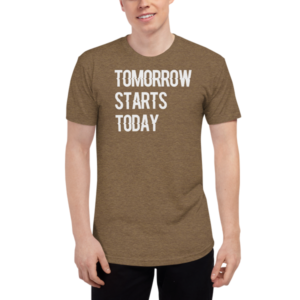 Tomorrow starts today (Zilliqa) – Men's Track Shirt