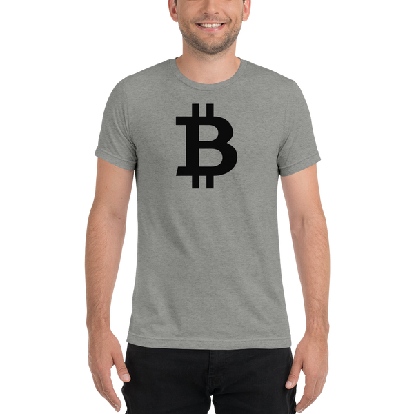 Bitcoin - Men's Tri-Blend T-Shirt