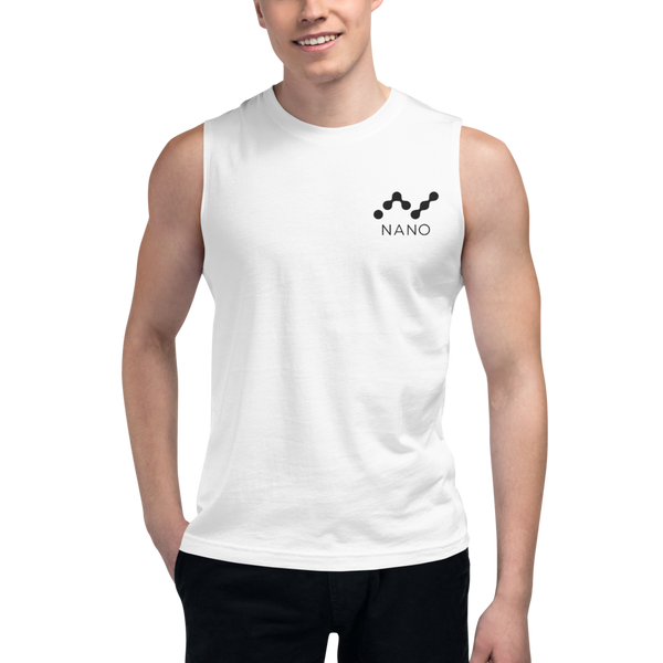 Nano – Men's Embroidered Muscle Shirt