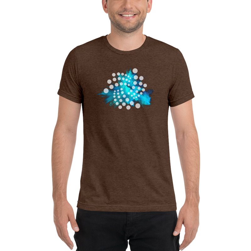 Iota color cloud - Men's Tri-Blend T-Shirt