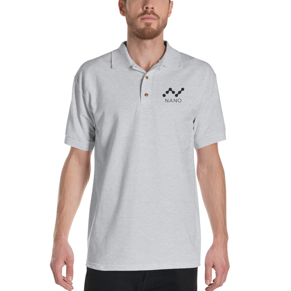 Nano – Men's Embroidered Polo Shirt