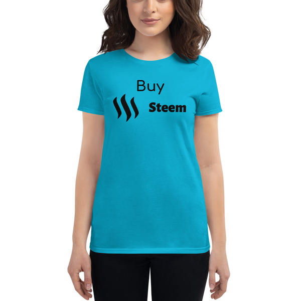 Buy Steem - Women's Short Sleeve T-Shirt
