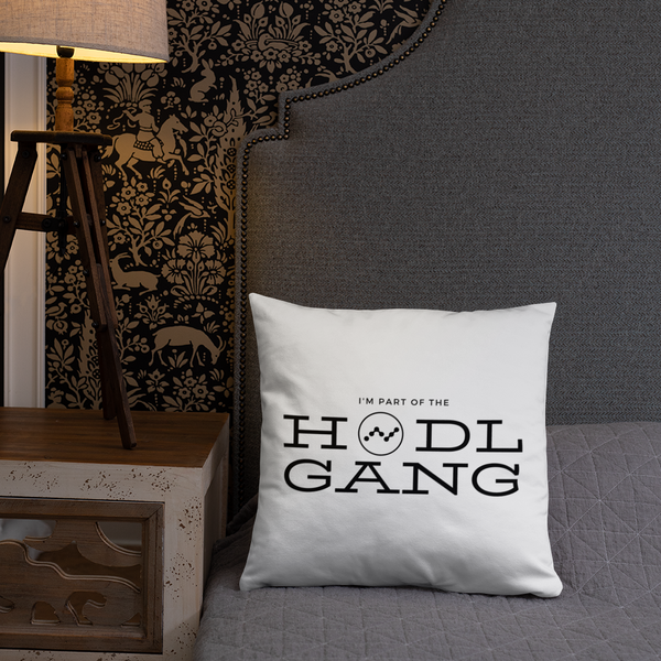 Hodl gang (nano) - Pillow