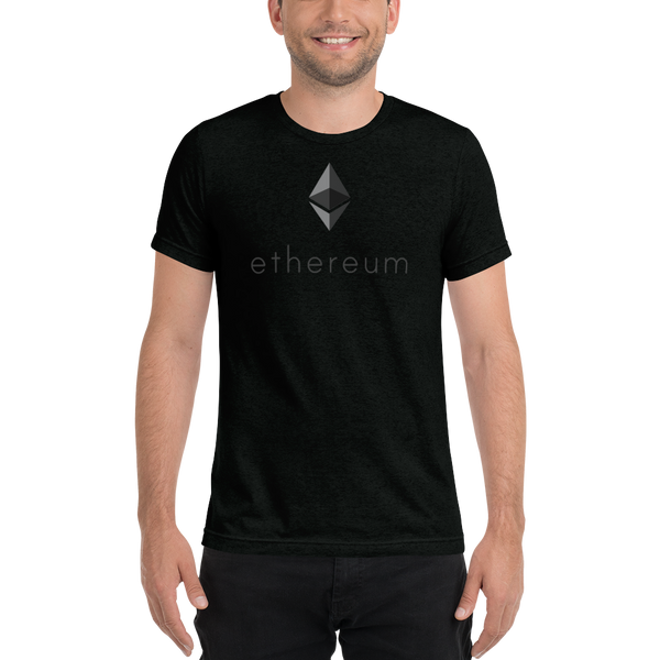 Ethereum logo - Men's Tri-Blend T-Shirt