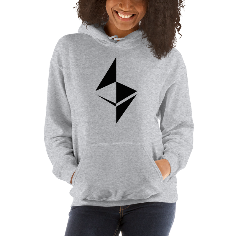 Ethereum surface design – Women's Hoodie