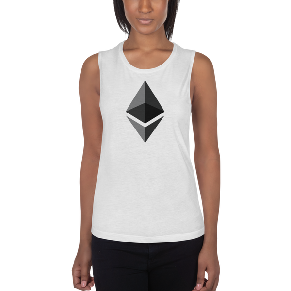Ethereum logo – Women's Sports Tank