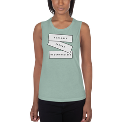 Scalable, secure, decentralized (Zilliqa) – Women's Sports Tank