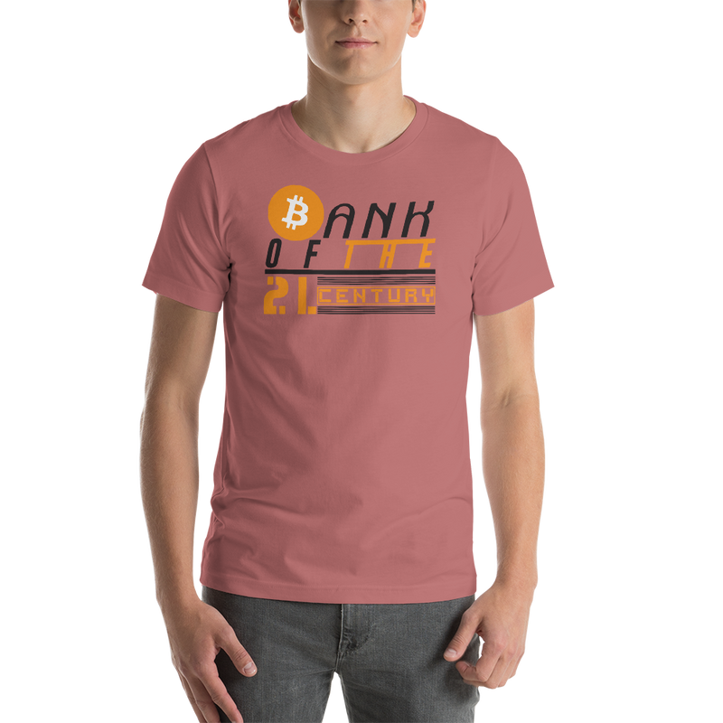 Bank of the 21. century (Bitcoin) - Men's Premium T-Shirt