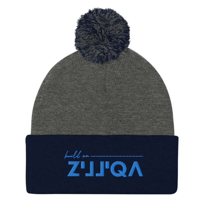 Build on Zilliqa - Pom-Pom Beanie