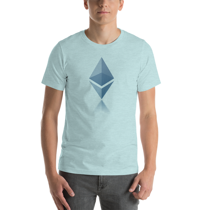 Ethereum reflection design - Men's Premium T-Shirt