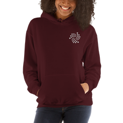 Iota floating – Women's Embroidered Hoodie