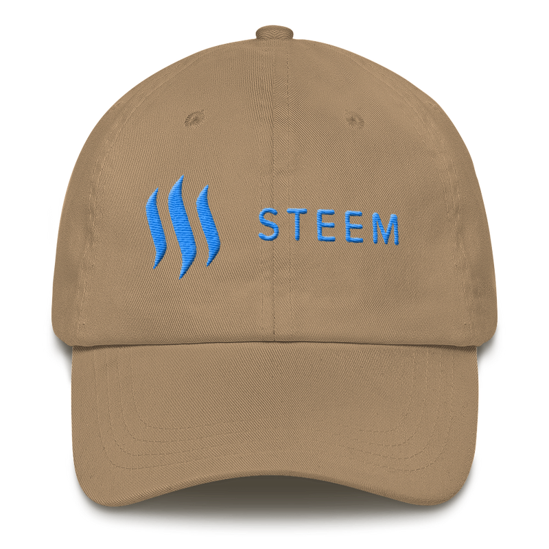Steem blue - Baseball cap