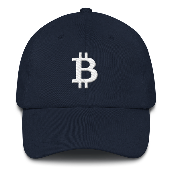 Bitcoin white - Baseball Cap