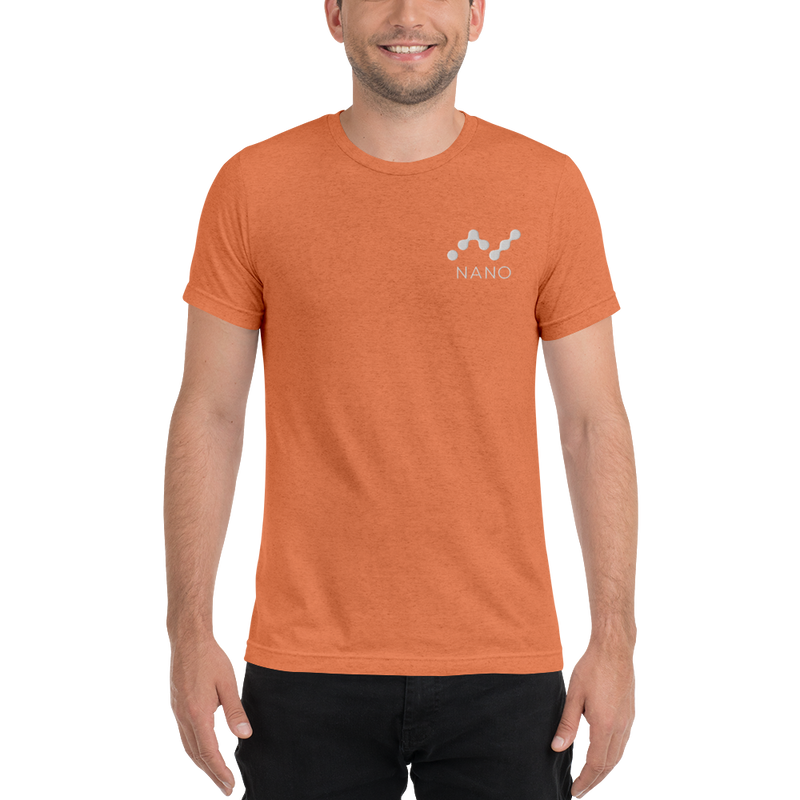 Nano – Men's Embroidered Tri-Blend T-Shirt