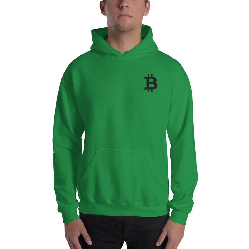 Bitcoin - Men's Embroidered Hoodie