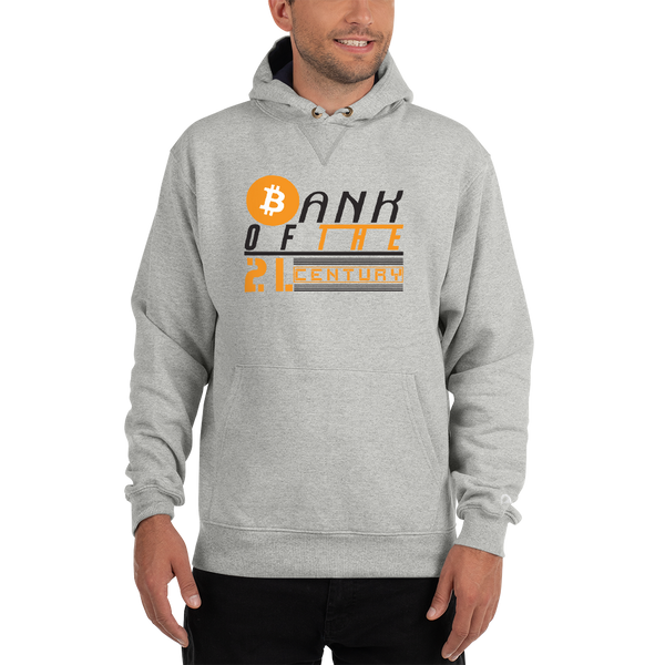 Bank of the 21. century (Bitcoin) - Men's Premium Hoodie