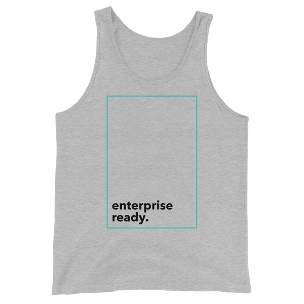 Enterprise Ready (Zilliqa) – Men's Tank Top