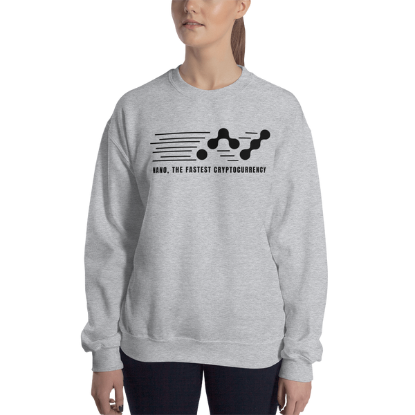 Nano, the fastest – Women's Crewneck Sweatshirt