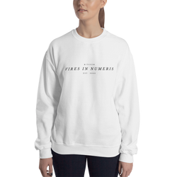 dgfbd Vires in numeris (Bitcoin) – Women's Crewneck Sweatshirt
