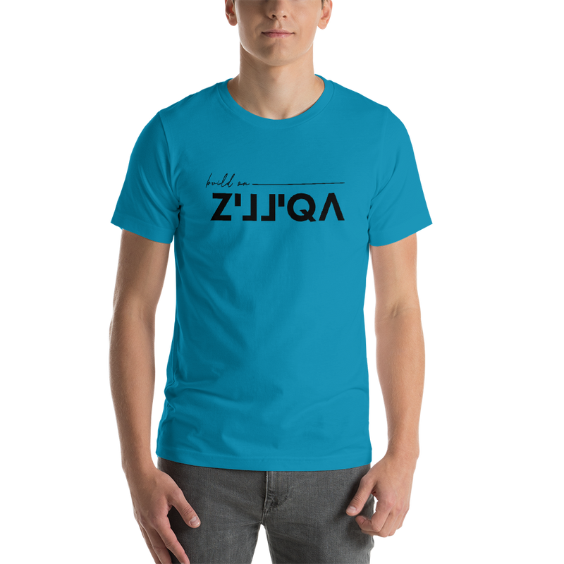 Build on Zilliqa - Men's Premium T-Shirt