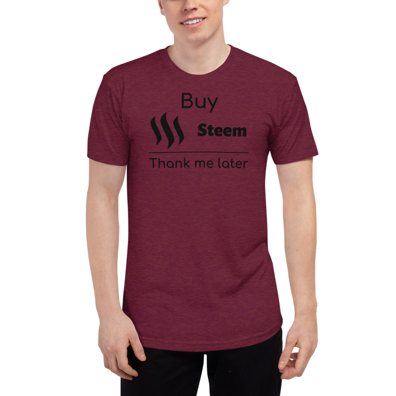 Buy Steem thank me later - Men's Track Shirt