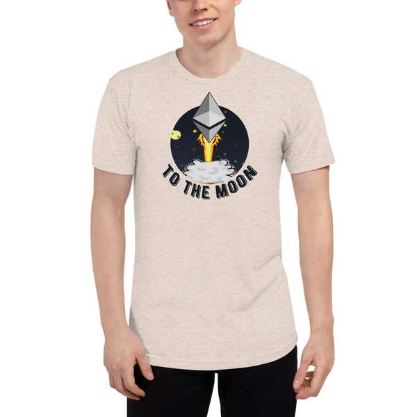 Ethereum to the moon - Men's Track Shirt