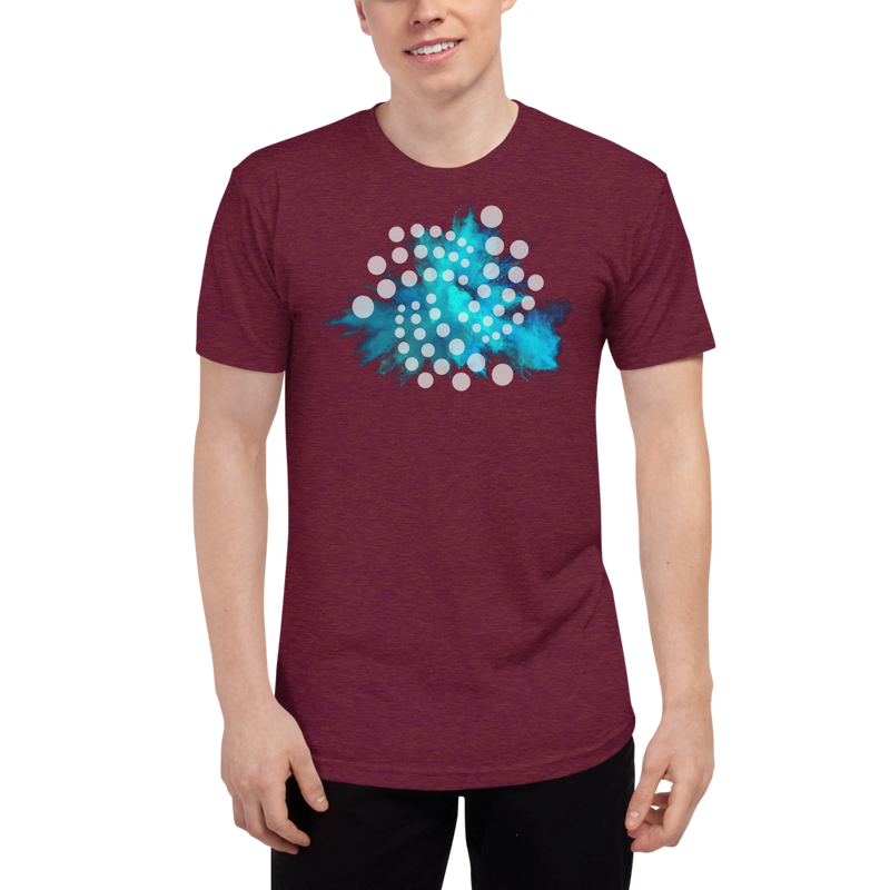 Iota color cloud - Men's Track Shirt