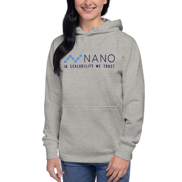 Nano, in scalability we trust – Women's Pullover Hoodie