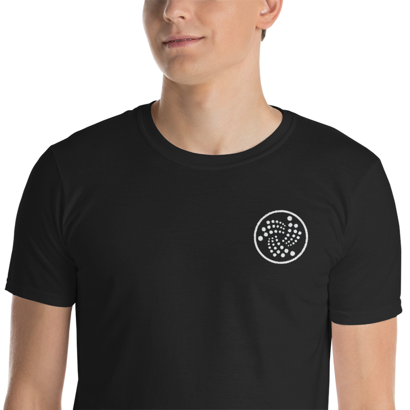 Embroidered iota logo - Men's T-Shirt