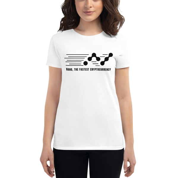 Nano, the fastest – Women's Short Sleeve T-Shirt