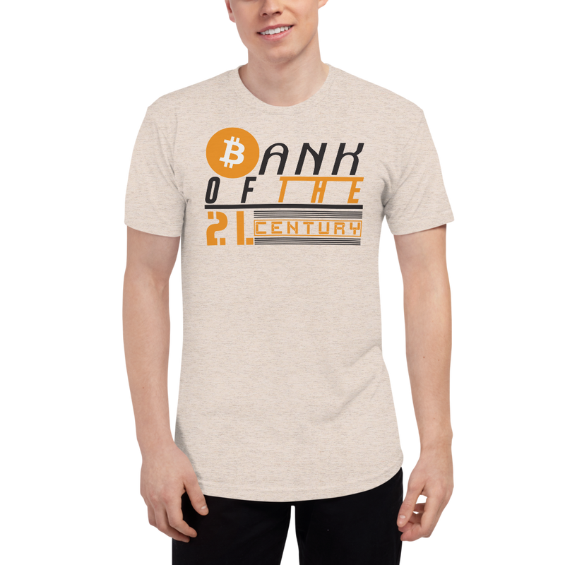 Bank of the 21.century (Bitcoin) - Men's Track Shirt