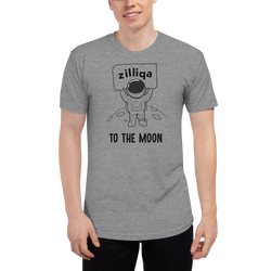 Zilliqa to the moon – Men's Track Shirt