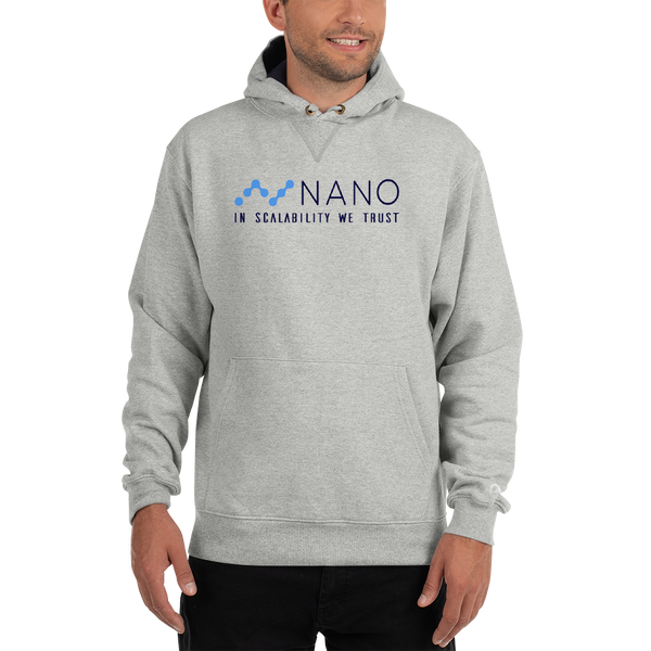 Nano, in scalability we trust - Men's Premium Hoodie