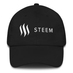 Steem white - Baseball cap