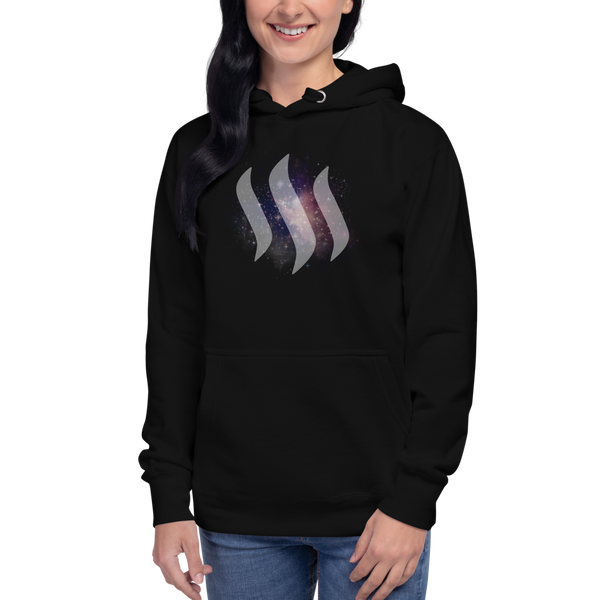 egfg Steem universe – Women's Embroidered Pullover Hoodie