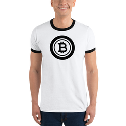 Bitcoin - Men's Ringer T-Shirt