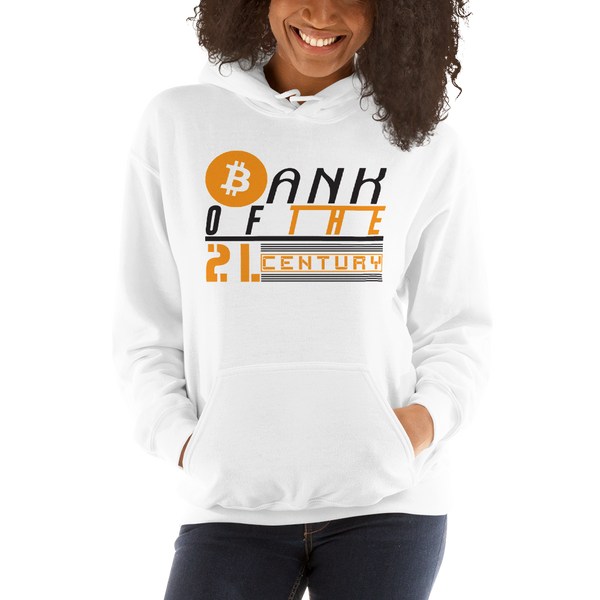 Bank of the 21. century (Bitcoin) – Women's Hoodie