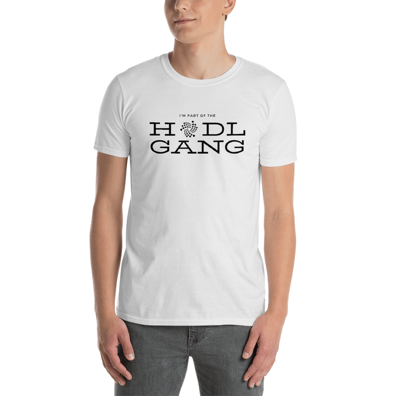 Hodl Gang (Iota) - Men's T-Shirt