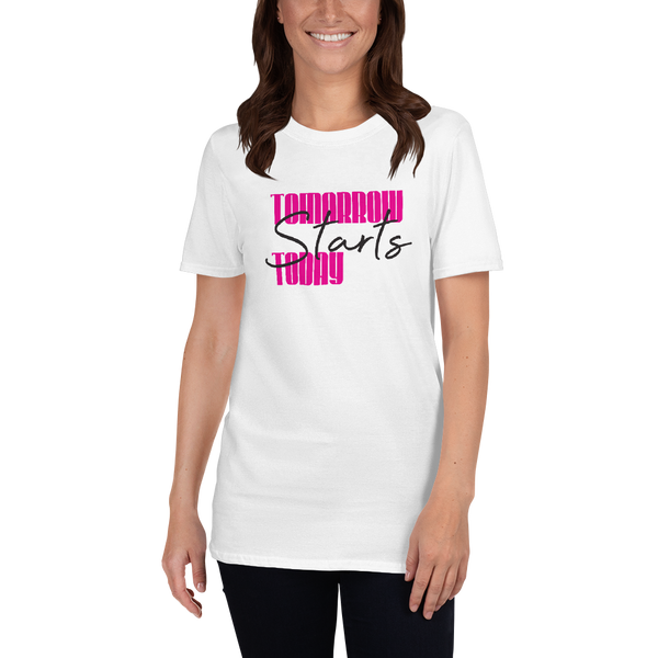 Tomorrow starts today (Zilliqa) – Women's T-Shirt