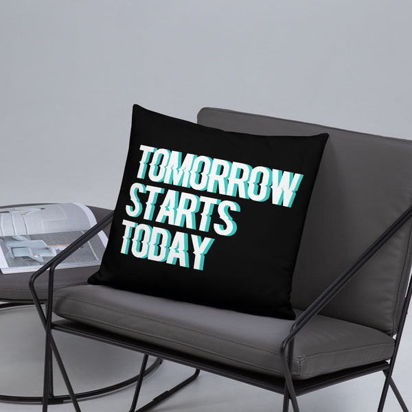 Tomorrow starts today (Zilliqa) - Pillow