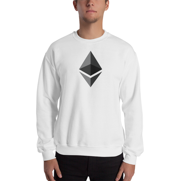 Ethereum logo - Men's Crewneck Sweatshirt