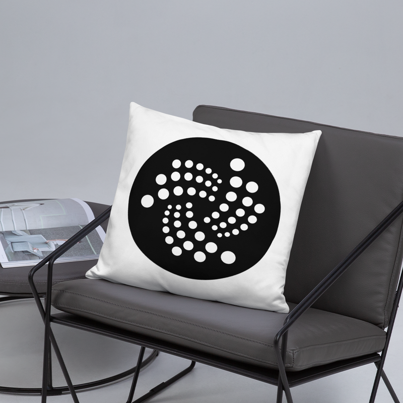 Iota logo - Pillow