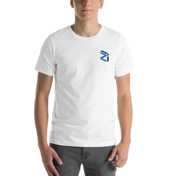 Zilliqa - Men's Embroidered Premium T-Shirt