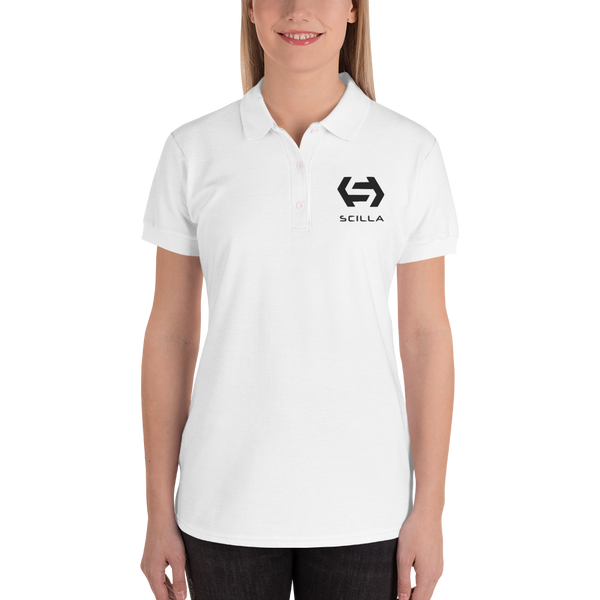Scilla – Women's Embroidered Polo Shirt